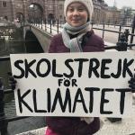 Hundratusentals barn skolstrejkar för klimatet